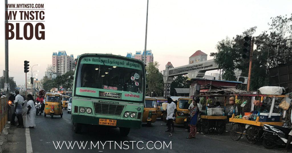 Chennai To Tiruvannamalai TNSTC Bus Service TN 32 N3981