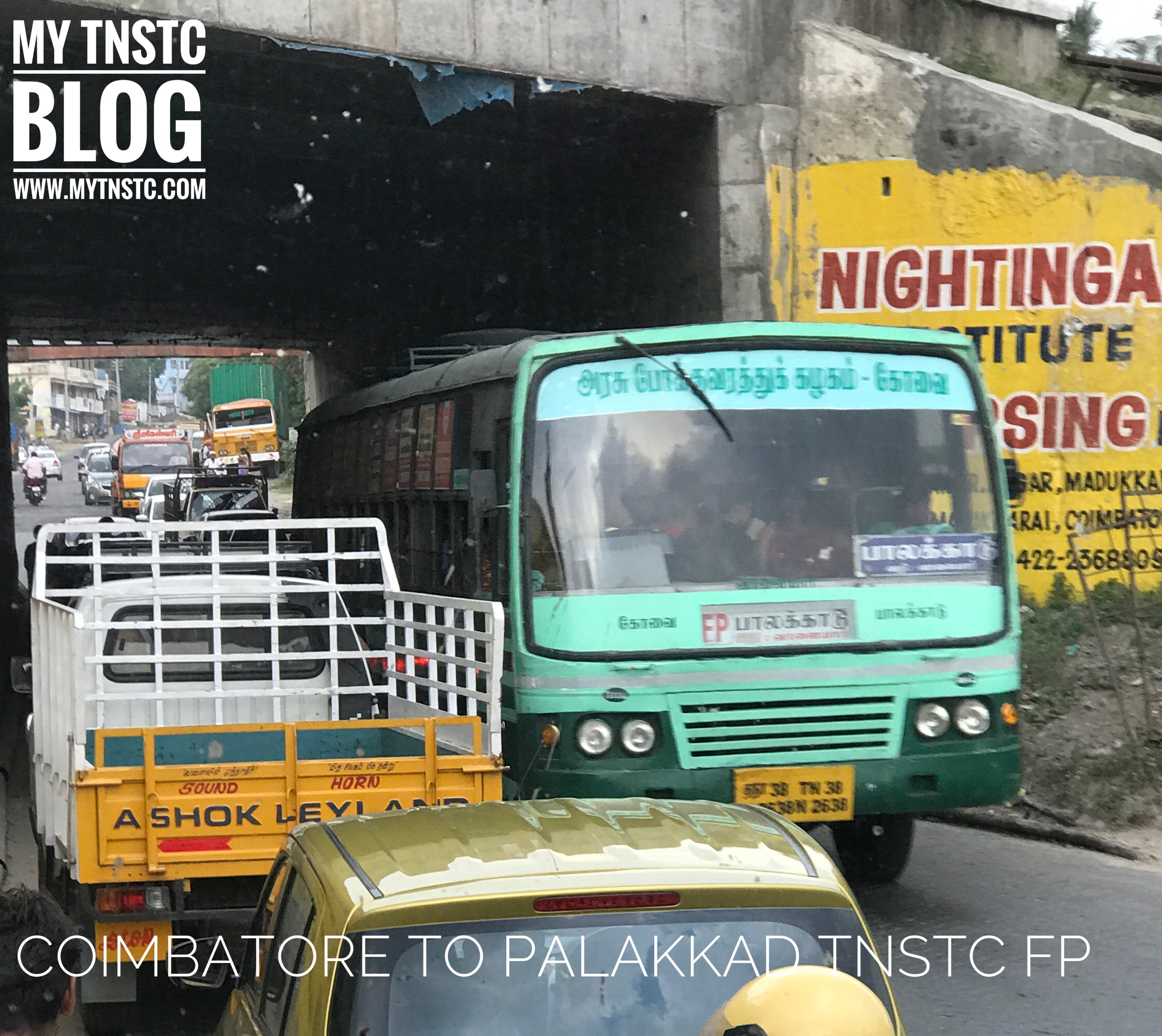 TNSTC Fast Passenger Service from Coimbatore To Palakkad