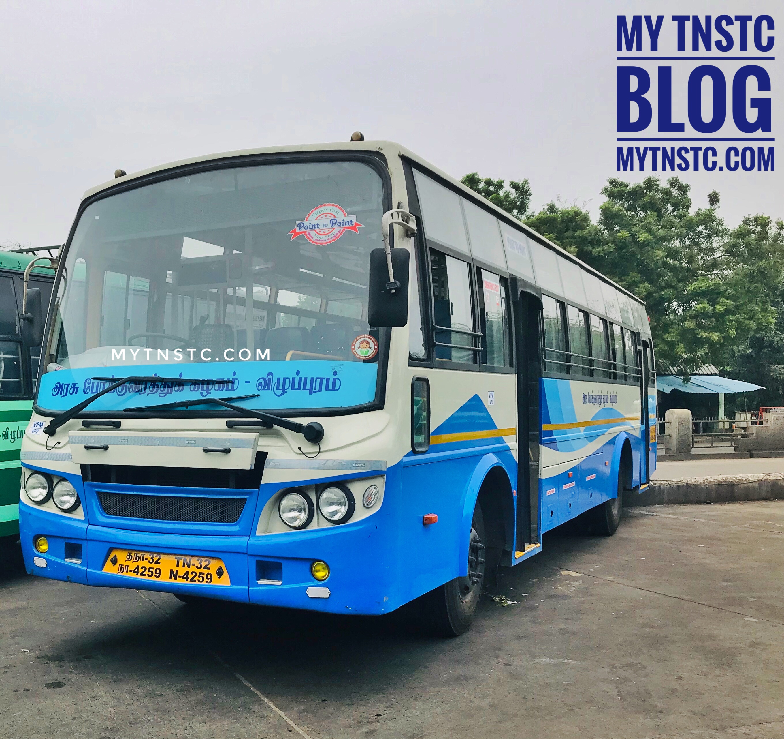 TNSTC Bus Timings From Nagercoil to Tirupur featured image