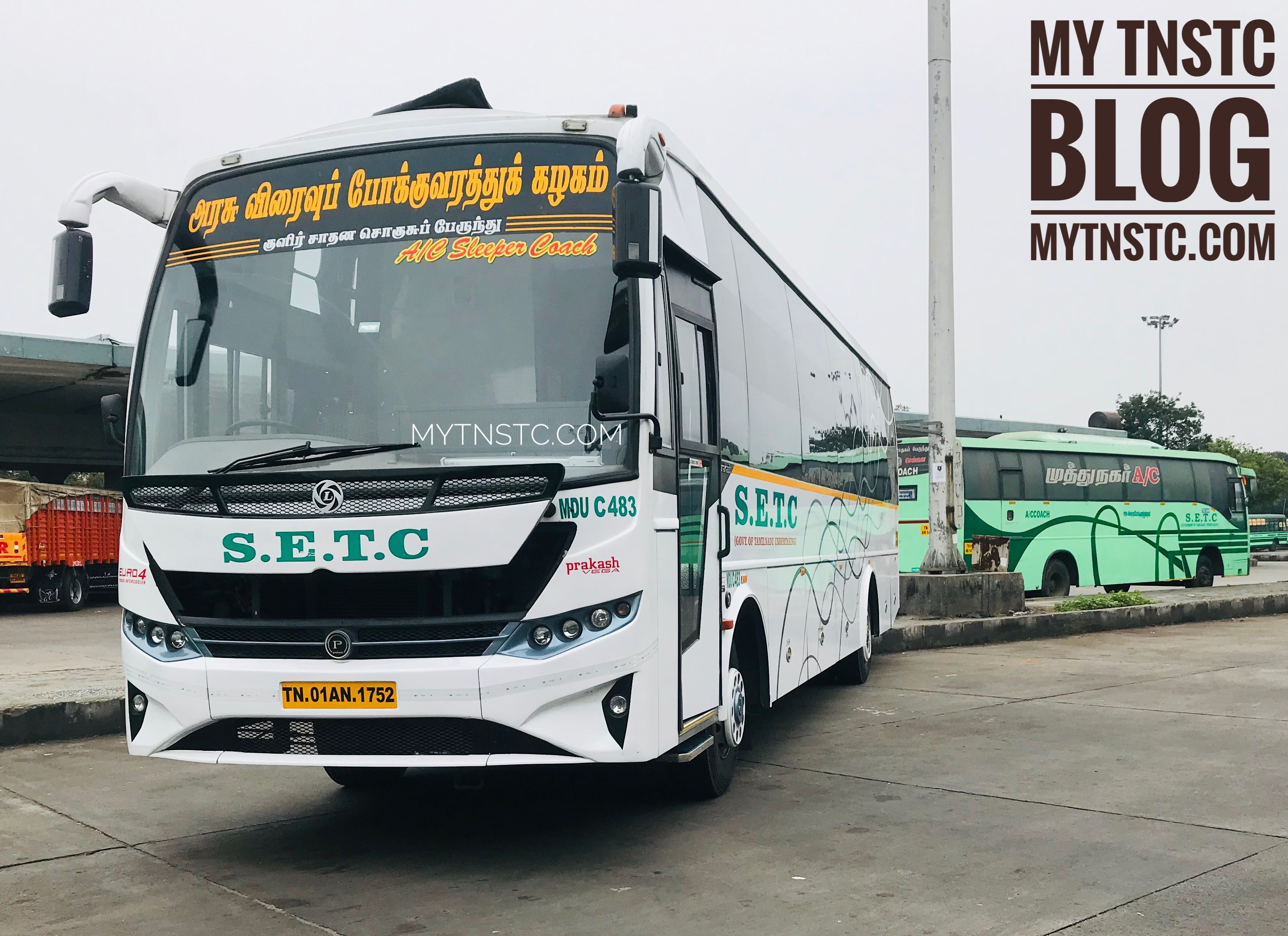 SETC AC Sleeper Bus Timings From Chennai CMBT – Updated featured image